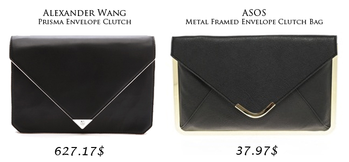 High-End vs. Street-End: The Envelope Clutch