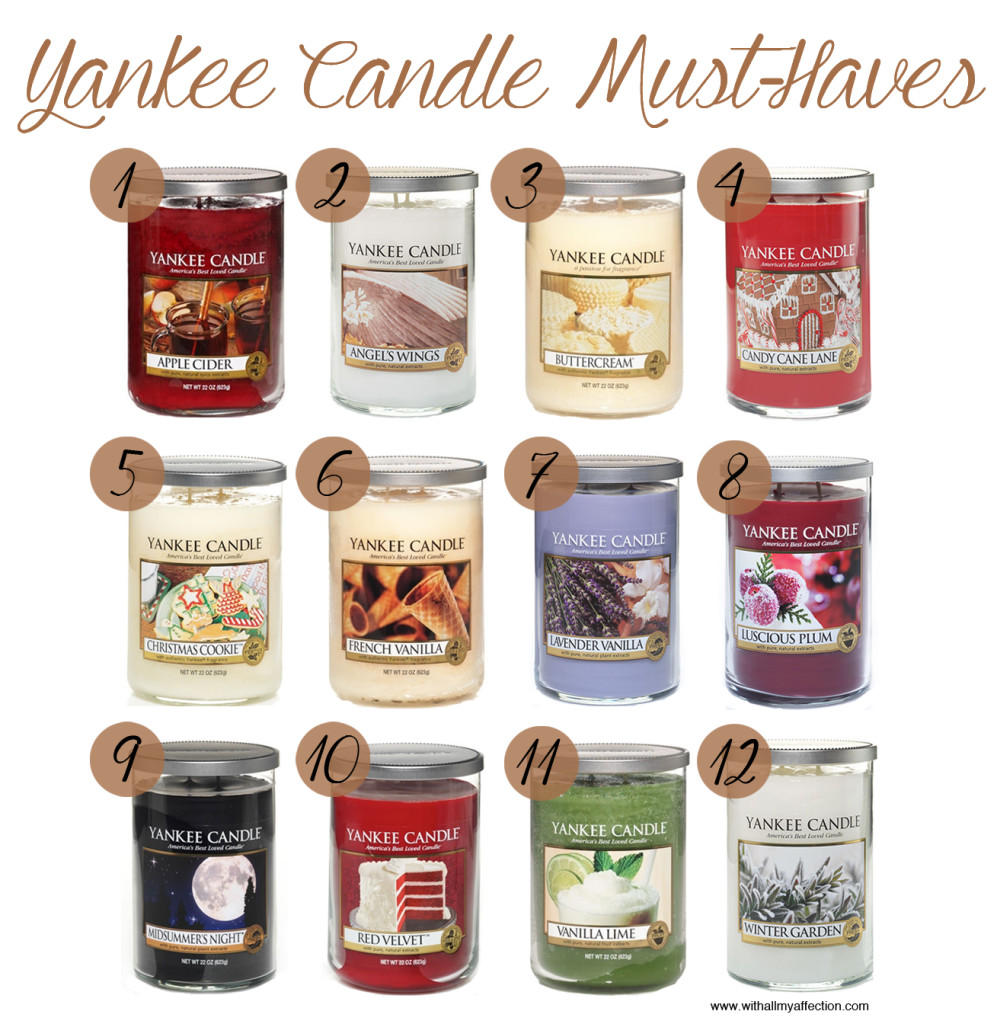 Yankee Candle Must-Haves