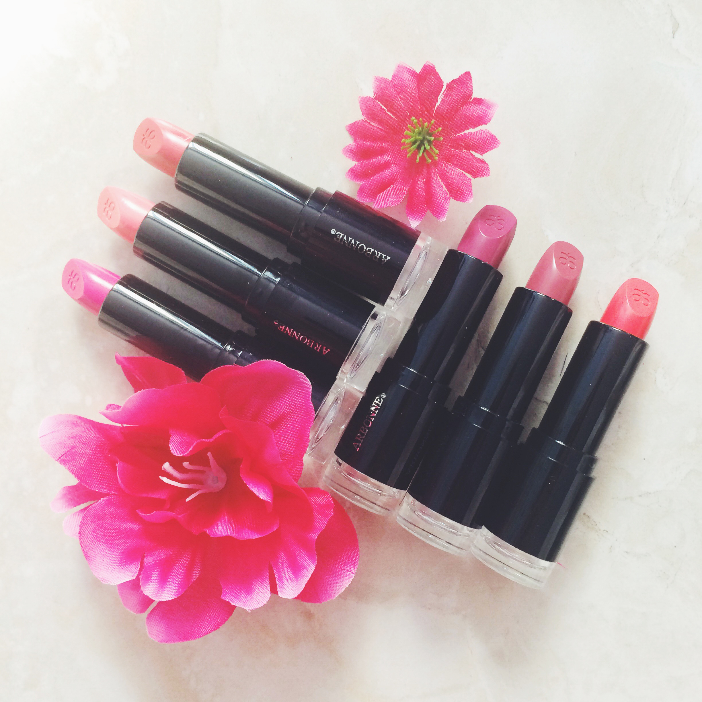 My S/S Lip Colours with Arbonne - With All My Affection