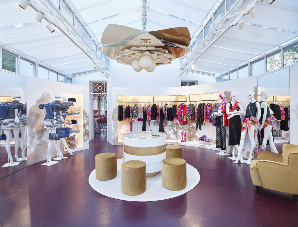 CHANEL Saint-Tropez Ephemeral Boutique