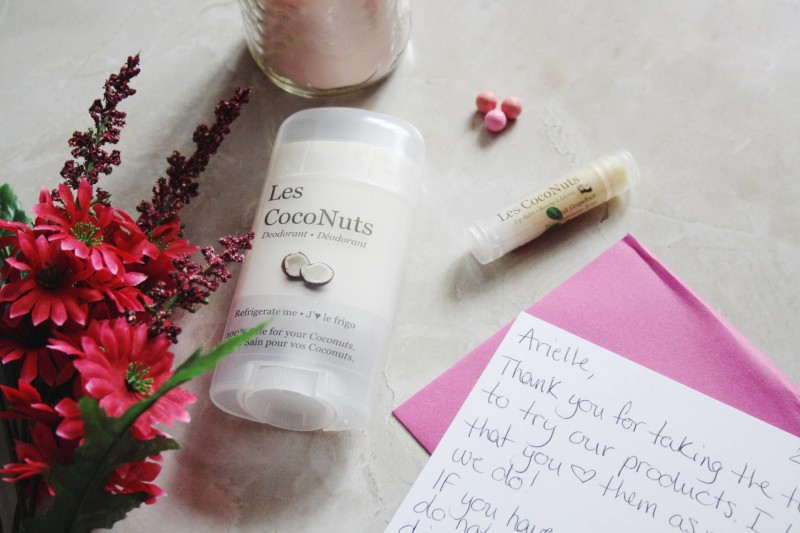 Natural Skincare with Les Coconuts