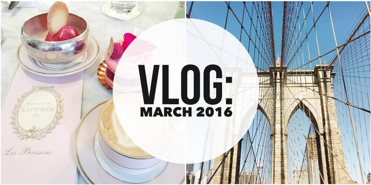Vlog: March 2016