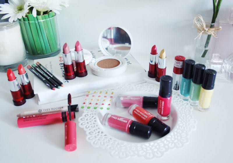 Yves Rocher Summer Makeup Collection With All My Affection