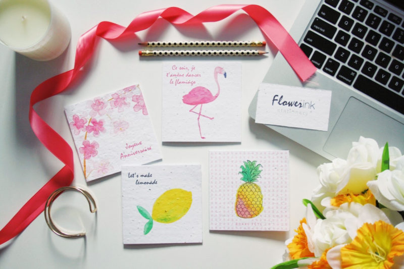 FlowerinkStationery1