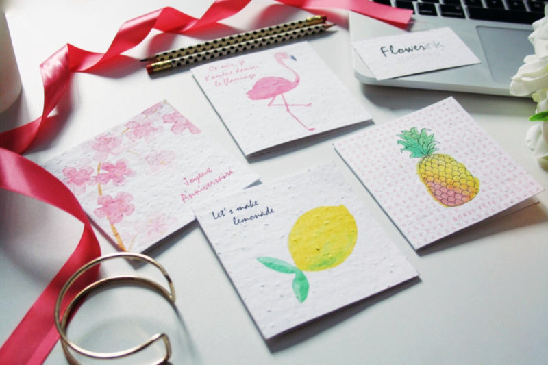 FlowerinkStationery2