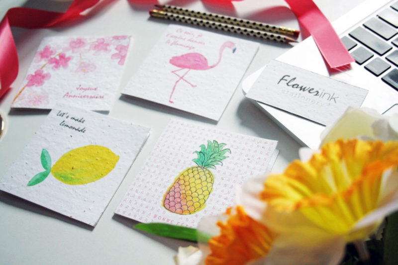 FlowerinkStationery3