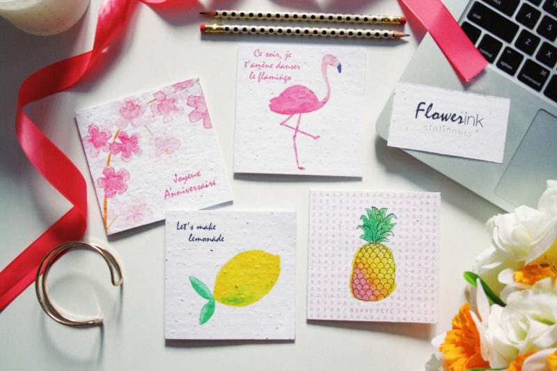 FlowerinkStationery4