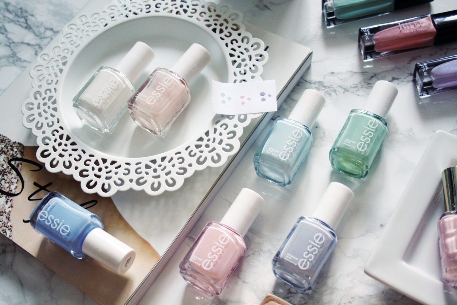 My Go-To Pastel Nail Polishes