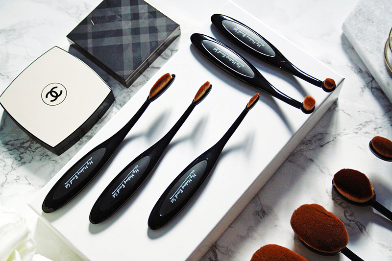 My Makeup Brush Set Oval Brushes - With All My Affection