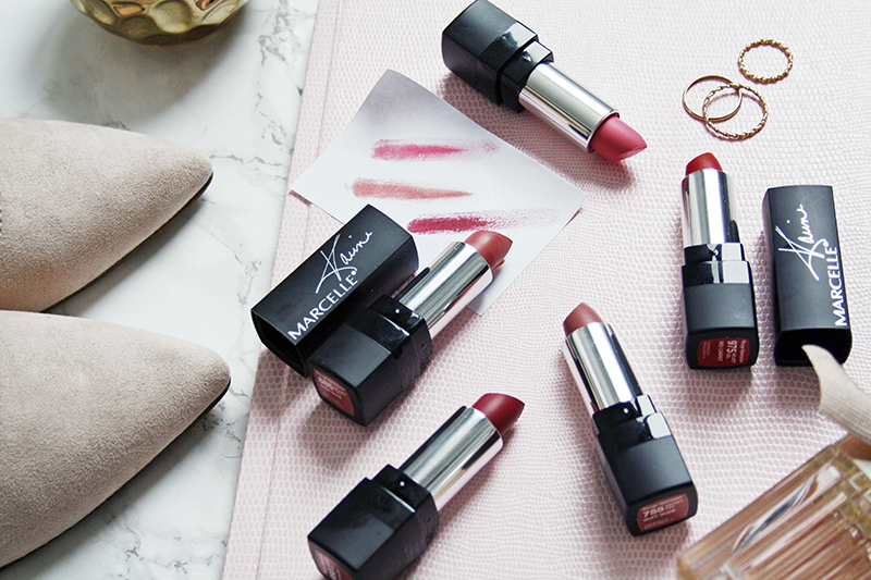 Marcelle Rouge Xpression Velvet Gel Lipsticks