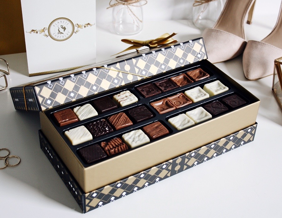 A Selection of Pralines with Planète Chocolat