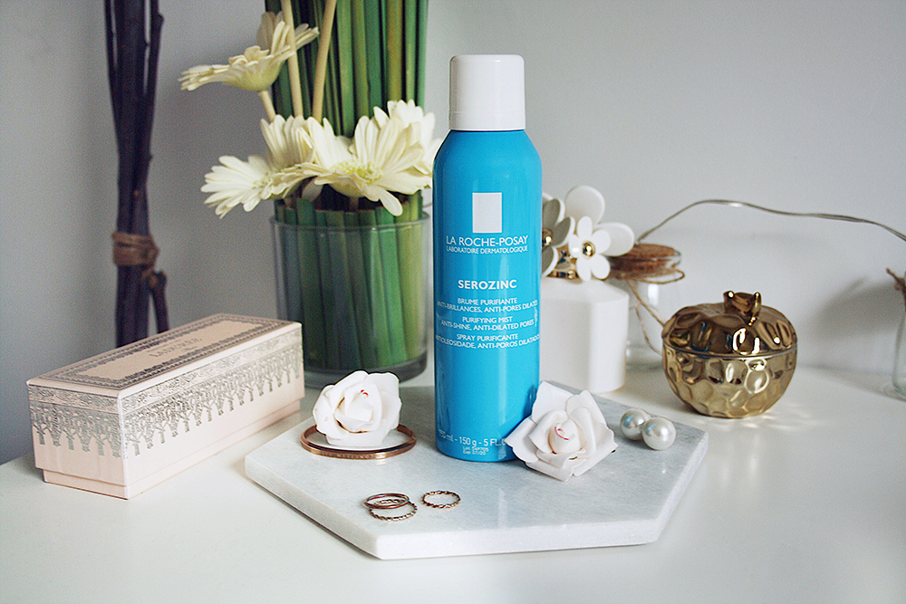 Staying Matte With La Roche-Posay Serozinc Mist